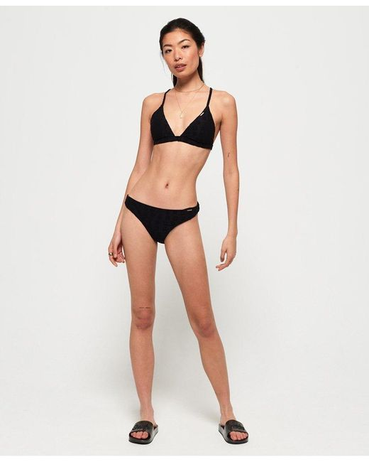 Superdry Womens Retro Cheeky Bikini Bottoms