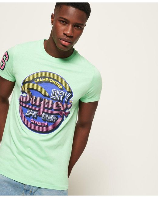 Superdry Mens Nyc Tab T-Shirt