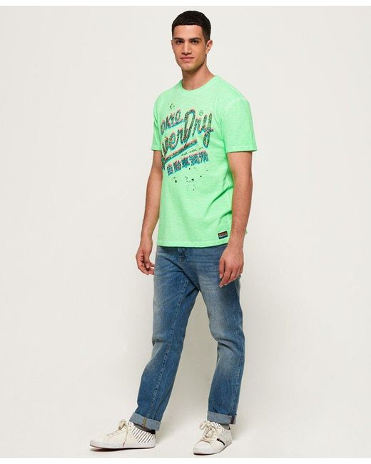 fcfee6999e20df superdry-GREEN-Acid-Pacifica-Cold-Dye-Oversized-T-shirt.jpeg