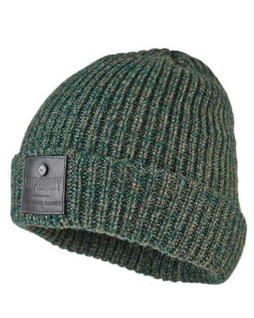 Superdry - Green Surplus Downtown Beanie for Men - Lyst