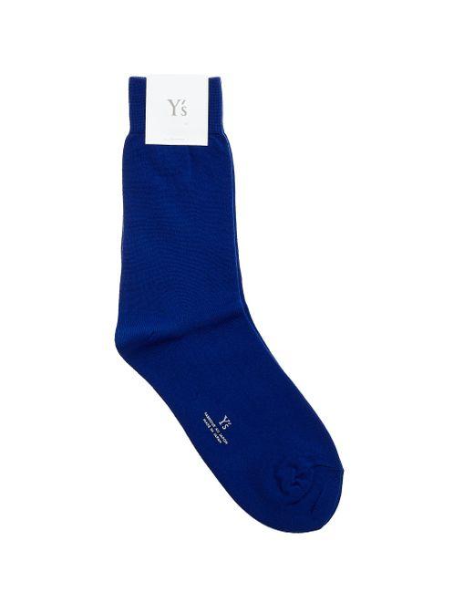Y's Yohji Yamamoto - Blue Socks - Lyst