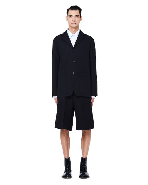 OAMC - Black Wool Jacket for Men - Lyst