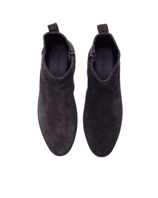 Замшевые Ботинки-челси Santa Fe Fear Of God для него, цвет: Gray