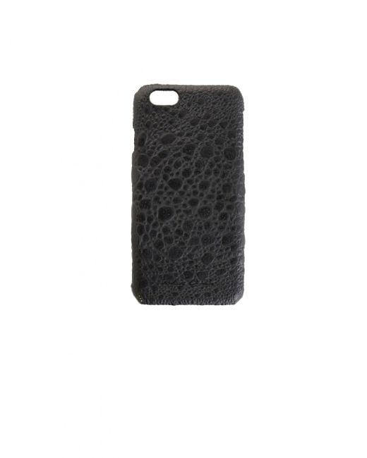 Rick Owens Black Iphone 6/6s Leather Case