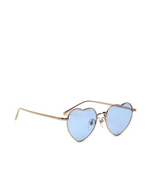Очки С Голубыми Линзами В Форме Сердца Undercover, цвет: Blue