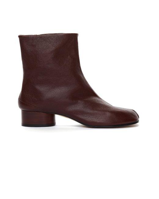 Кожаные Ботинки Tabi Maison Margiela, цвет: Multicolor