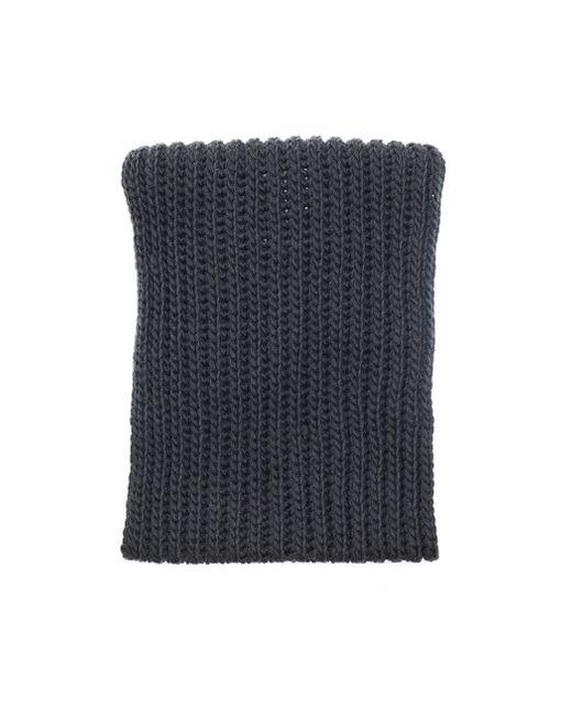 Серый Вязаный Снуд Из Шерсти Yohji Yamamoto для него, цвет: Gray