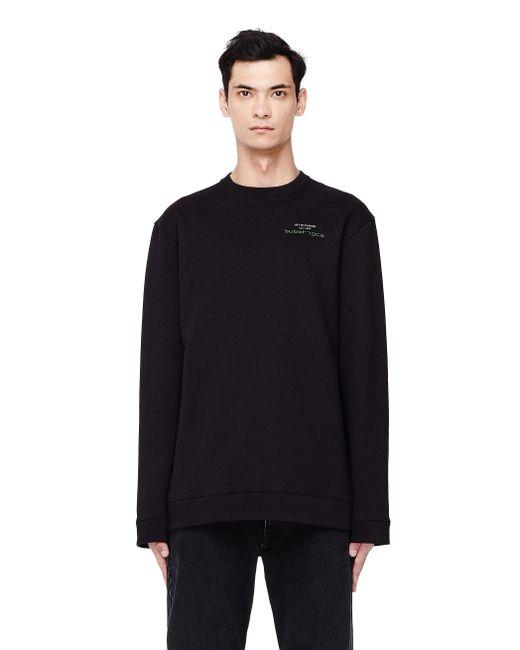 Raf Simons - Joy Division Black Printed Sweatshirt for Men - Lyst