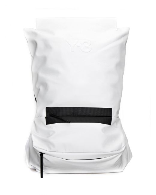 Y-3 - White Backpack With Logo - Lyst