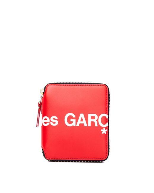 Красный Кожаный Кошелек Comme des Garçons для него, цвет: Red