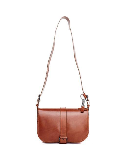 A.F.Vandevorst - Brown Leather Cross Body Bag - Lyst