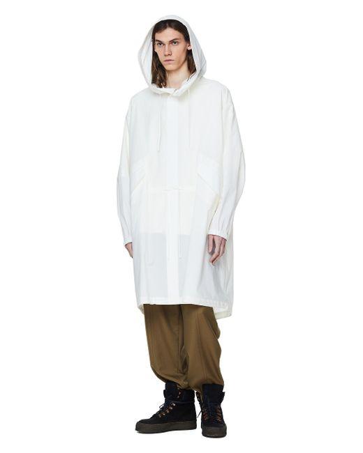 Парка С Логотипом На Спинке Jil Sander для него, цвет: White