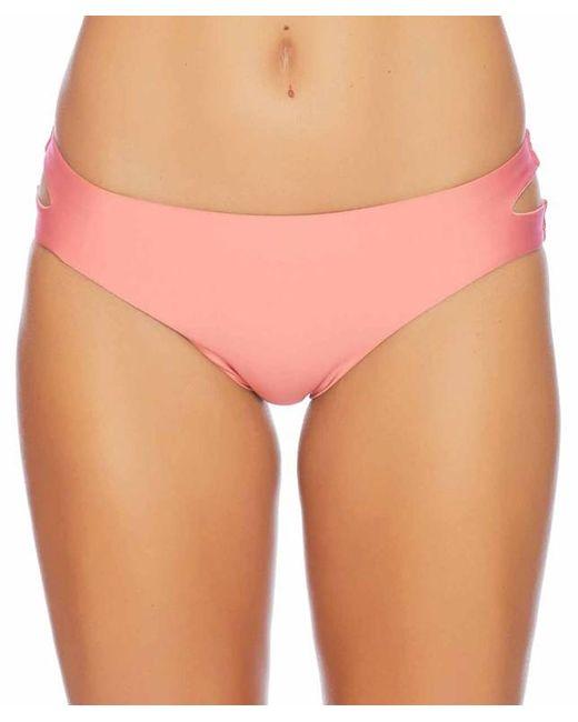 Splendid - Pink Art Deco Side Cutout Bottom - Lyst
