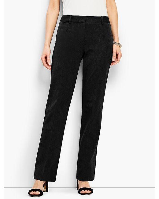 Talbots - Black Refined Bi-stretch Windsor Pant - Lyst