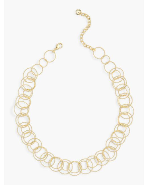 Talbots | Metallic Delicate Multi-link Necklace | Lyst