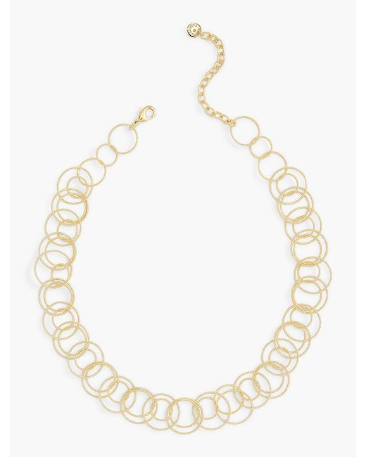 Talbots   Metallic Delicate Multi-link Necklace   Lyst