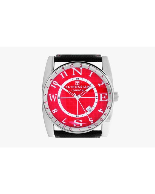 Tateossian Gulliver Sports Watch In Red For Men Save 86 Lyst