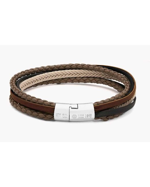 Tateossian   Natural Multi-strand Cobra Bracelet for Men   Lyst