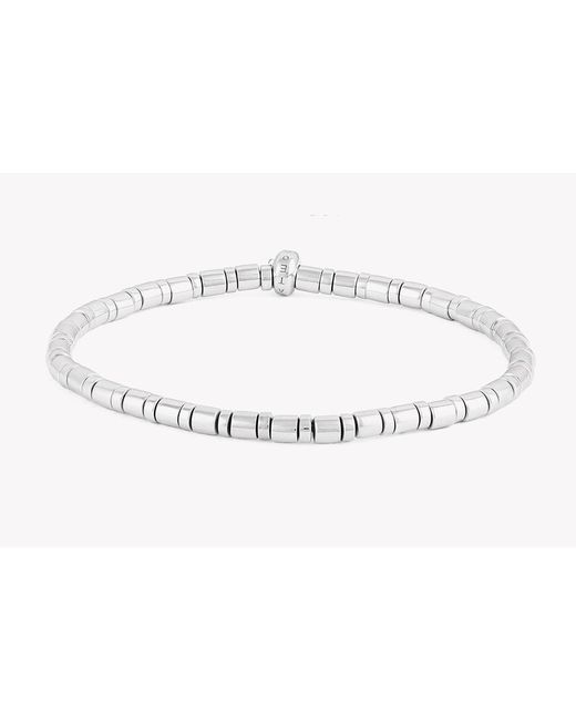 Tateossian - Metallic Bamboo Silver Bracelet for Men - Lyst