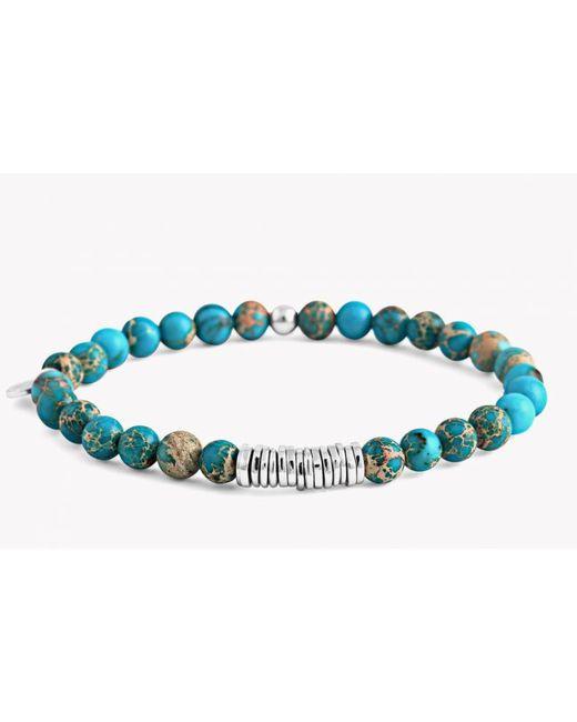 Tateossian | Blue Sodalitespacer Smallbead Bracelet | Lyst