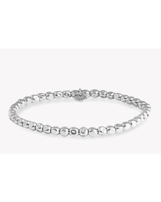 Tateossian - Metallic Small Silver Cube Bracelet for Men - Lyst