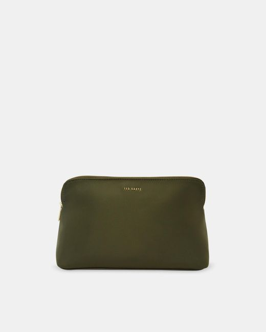 Ted Baker Green Nylon Wash Bag