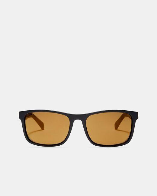 Ted Baker - Black Striped Arm Sunglasses for Men - Lyst