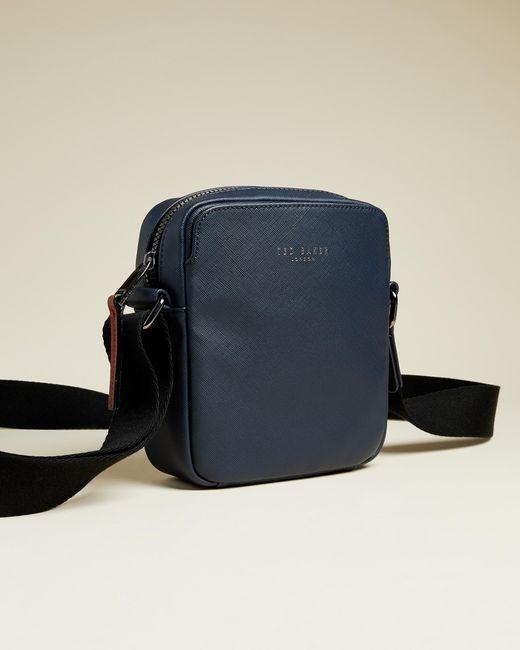 Ted Baker Blue Mini Flight Bag for men