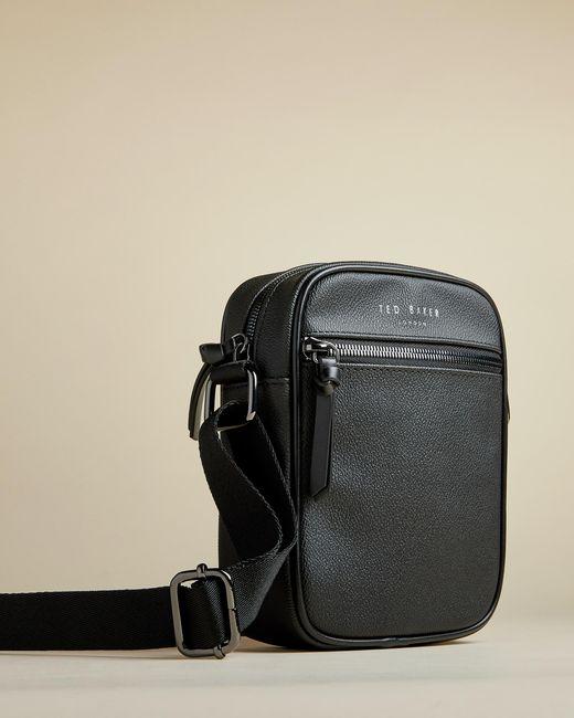 Ted Baker Black Mini Flight Bag for men