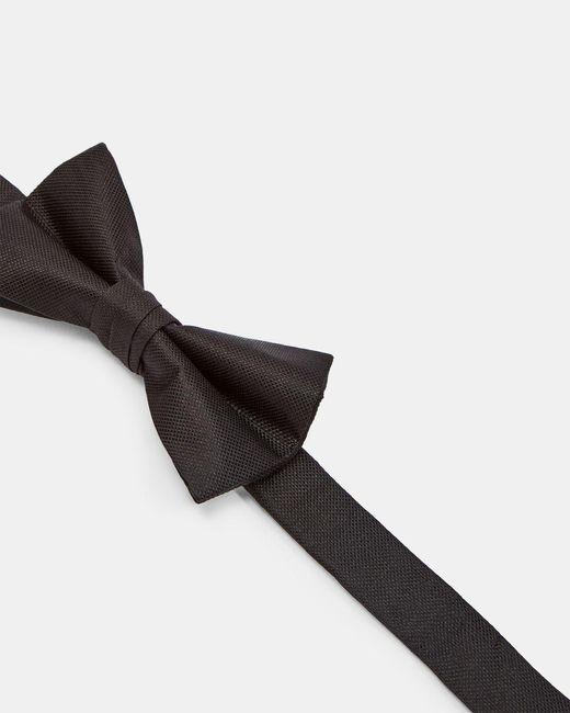 Ted Baker Black Silk Bow Tie for men