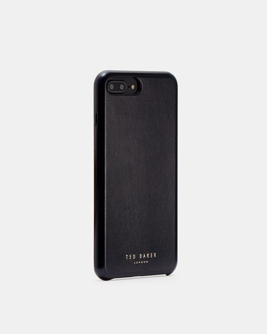 Ted Baker Blue Leather Iphone 6/7/8 Plus Case for men