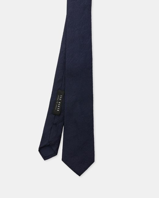 Ted Baker - Blue Textured Silk Tie for Men - Lyst