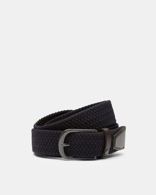 Ted Baker - Blue Woven Elastic Belt for Men - Lyst