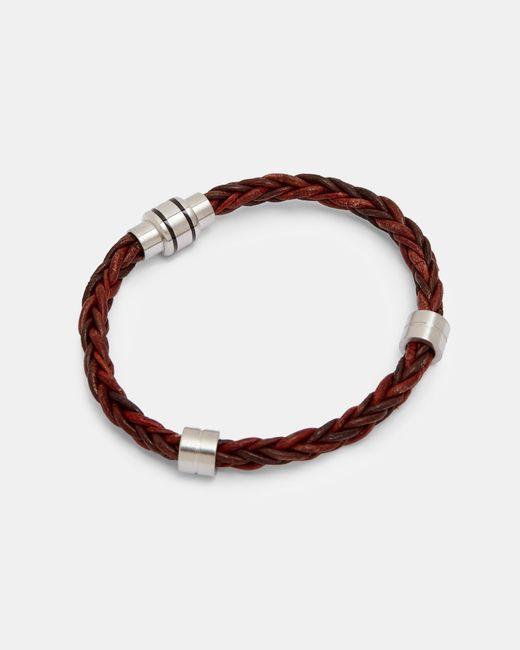Ted Baker - Multicolor Two-tone Weaved Bracelet for Men - Lyst