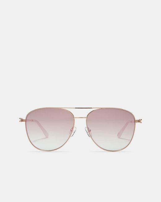 Ted Baker Multicolor Pilot Sunglasses