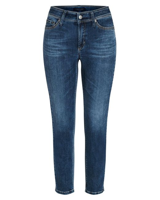 Cambio Enkellange 5-pocket Jeans   Piper in het Blue