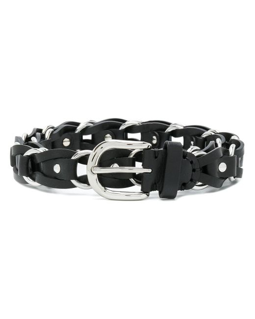 Étoile Isabel Marant - Black Deakin Leather Belt - Lyst