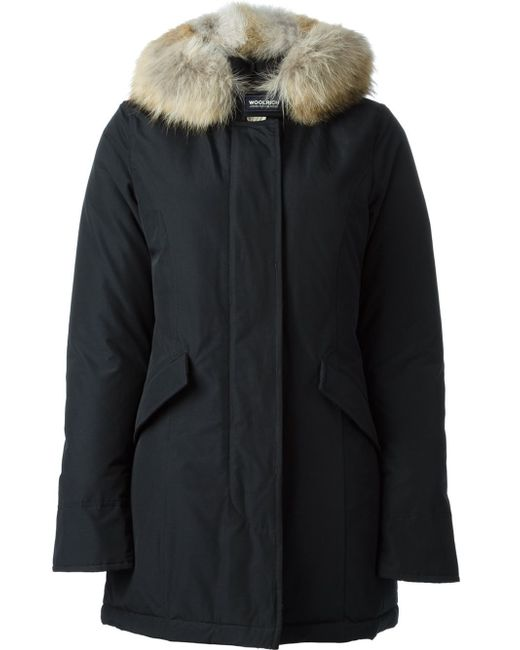 woolrich dark blue arctic parka in black save 8 lyst. Black Bedroom Furniture Sets. Home Design Ideas