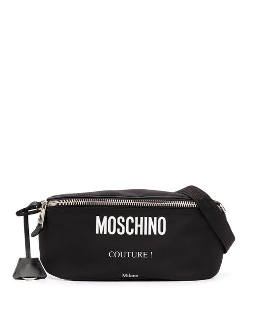 Moschino Black Pouch for men