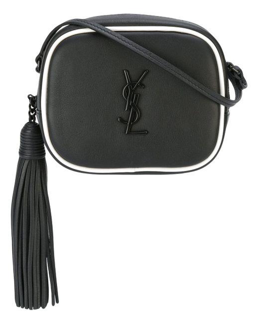 Saint Laurent | Black Monogram Blogger Leather Shoulder Bag | Lyst