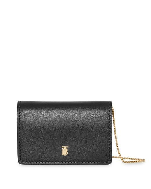 Burberry Black Jessie Leather Shoulder Bag