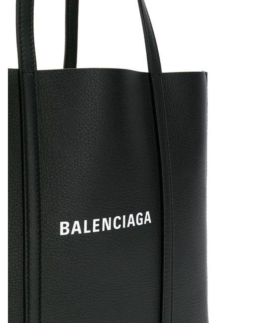 33b50a52b9ee ... Balenciaga - Black Everyday Xs Leather Tote Bag - Lyst ...