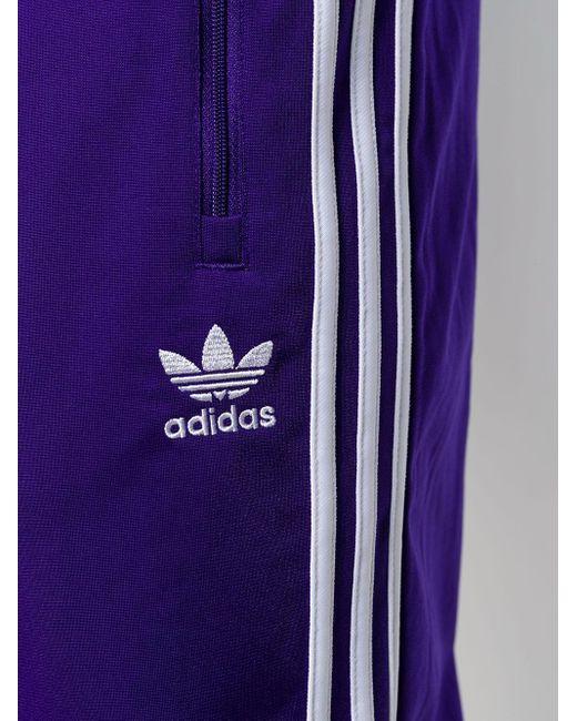 sneakers sells discount shop Men's Purple Cotton Jogging Pants