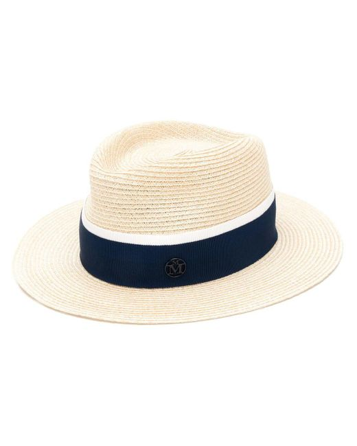 228765775e6 Maison Michel - Natural Andre Straw Hat - Lyst ...