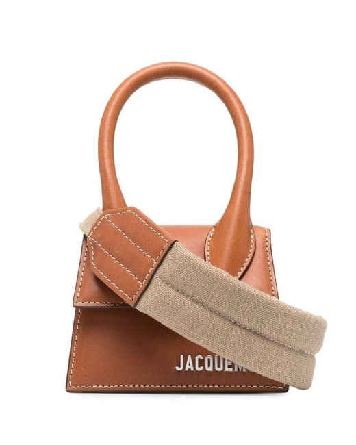 Jacquemus Brown Le Chiquito Tote Bag for men
