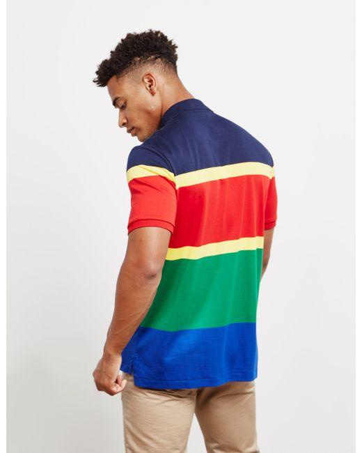 3cfc36b88 ... Polo Ralph Lauren - Hi Tech Short Sleeve Polo Shirt Red for Men - Lyst  ...