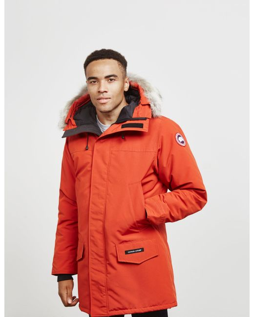 b148c745a348 Lyst - Canada Goose Langford Parka Jacket Red in Red for Men - Save 5%