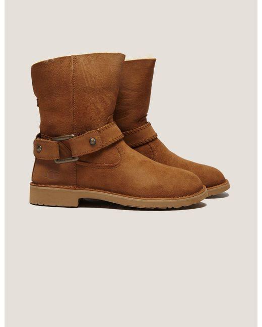 Ugg | Brown Cedrick Mid Cowboy Boot | Lyst
