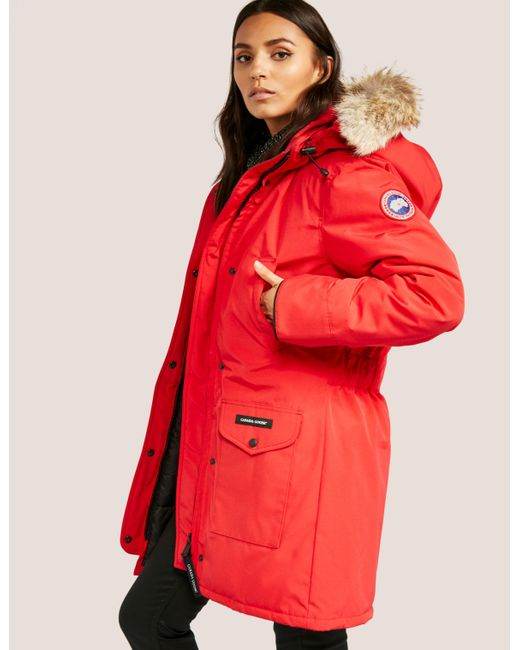 canada goose Vests Red