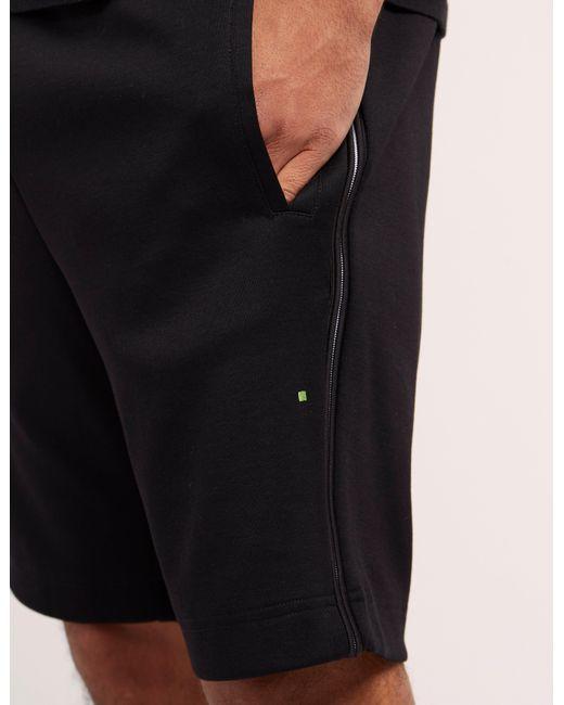 ea20096b Boss Mens Green Headlo Shorts Black in Black for Men - Lyst